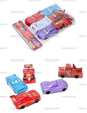 Набор игрушечных машин «Тачки», 9831