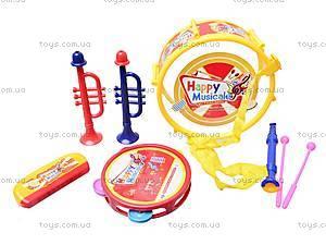 Набор игрушечных музыкальных инструментов, 5504, игрушки