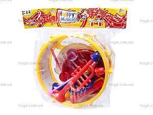 Набор игрушечных музыкальных инструментов, 5504