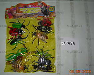 Набор игрушечных насекомых, HA2485