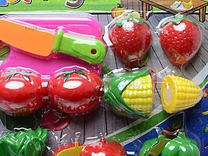 Набор игрушечных овощей и фруктов, 2012A, фото