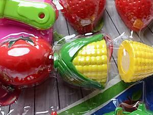 Набор игрушечных овощей и фруктов, 2012A, игрушки