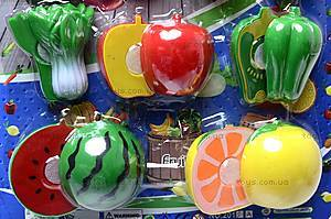Набор игрушечных овощей и фруктов, 2012A, детские игрушки