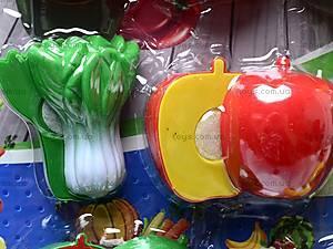 Набор игрушечных овощей и фруктов, 2012A, магазин игрушек