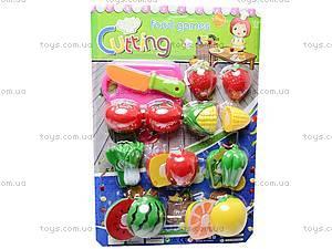 Набор игрушечных овощей и фруктов, 2012A