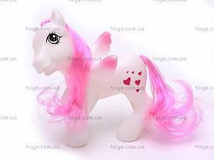 Набор игрушечных пони, 0184-101117, фото