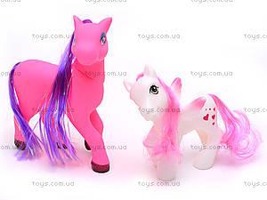 Набор игрушечных пони, 0184-101117