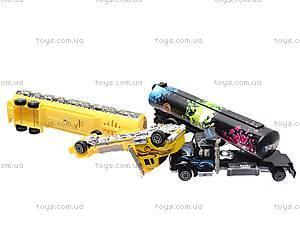 Набор игрушечных трейлеров, 0750-6, купить