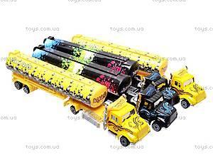 Набор игрушечных трейлеров, 0750-6, детские игрушки