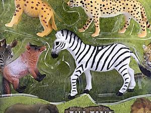 Набор игрушек «Дикие животные», 9540C, фото