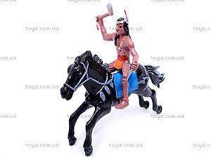 Набор индейцев на лошадях, 7077-110, купить
