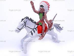 Набор индейцев на лошадях, 7077-110, фото