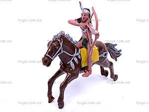 Набор индейцев на лошадях, 7077-110, игрушки
