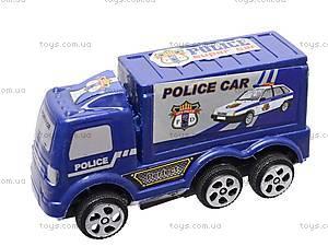 Набор инерц. машинок «Полиция», 0025, купить