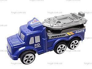 Набор инерц. машинок «Полиция», 0025, игрушки