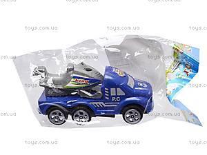 Набор инерц. машинок «Полиция», 0025, детские игрушки