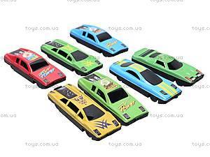Набор инерционных автомобилей, MKC452085, детский