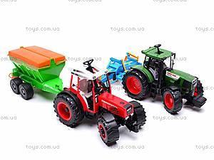 Набор инерционных детских тракторов, 1011C