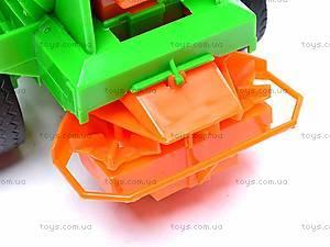 Набор инерционных детских тракторов, 1011C, фото