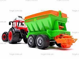 Набор инерционных детских тракторов, 1011C, цена