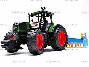 Набор инерционных детских тракторов, 1011C, игрушки