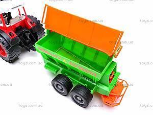 Набор инерционных детских тракторов, 1011C, детские игрушки