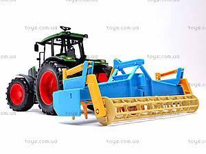 Набор инерционных детских тракторов, 1011C, магазин игрушек