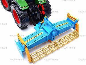 Набор инерционных детских тракторов, 1011C, toys.com.ua