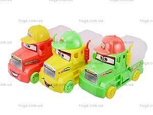 Набор инерционных грузовичков, 285В-2, игрушки