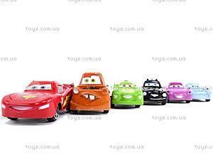 Набор инерционных игрушек «Тачки», 801A-6, купить