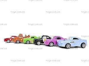 Набор инерционных игрушек «Тачки», 801A-6, детские игрушки