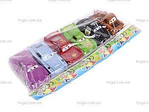 Набор инерционных игрушек «Тачки», 801A-6