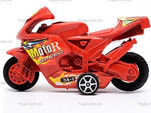 Набор инерционных мотоциклов, 8806-12, купить