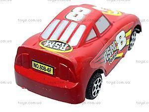 Набор инерционных спорткаров, 808-6F, игрушки