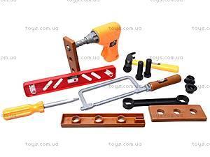 Набор инструментов «Чемоданчик мастера», 2984A, детские игрушки