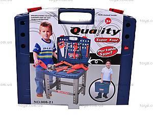 Набор инструментов для мастера, 008-21, игрушки