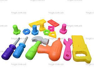 Игрушечный набор инструментов мастера, 906-5, игрушки