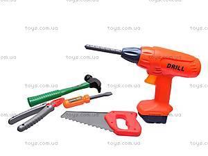 Набор инструментов строителя, в чемоданчике, 2135, фото