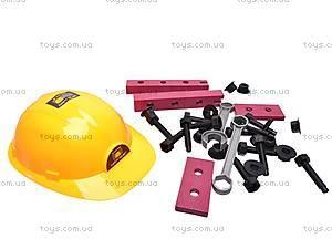 Набор инструментов строителя, в чемоданчике, 2135