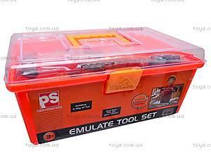 Набор инструментов строителя, в чемоданчике, 2135, цена