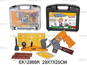 Набор инструментов в чемодане, EK12868R
