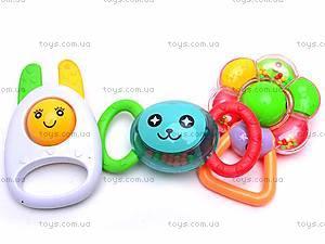 Набор из семи детских погремушек , 09038, фото