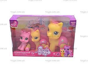 Набор из трех пони, 0184-9, игрушки