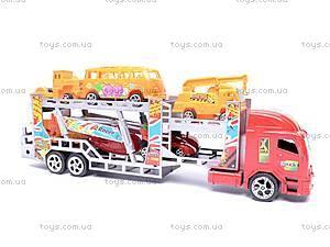 Набор из трейлера и машинок, 921-5, игрушки