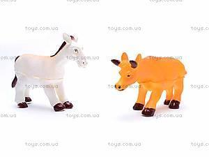 Набор животных, 6 фигурок, 489-C, купить