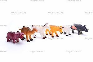 Набор животных, 6 фигурок, 489-C, фото