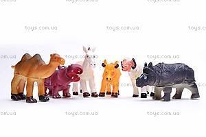 Набор животных, 6 фигурок, 489-C, цена