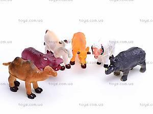Набор животных, 6 фигурок, 489-C