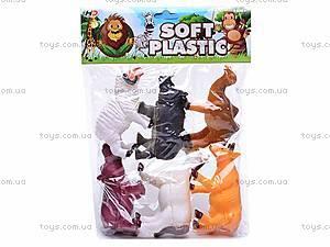 Набор животных, 6 фигурок, 489-C, игрушки