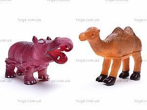 Набор животных, 6 фигурок, 489-C, детские игрушки
